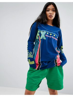 ASOS Super Long Sleeve T-Shirt With Print