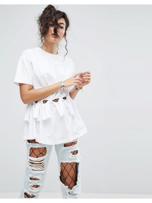 ASOS T-Shirt with Ties & Knot Details