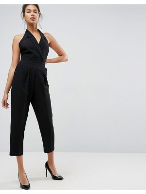 ASOS Tux Jumpsuit with Peg Leg