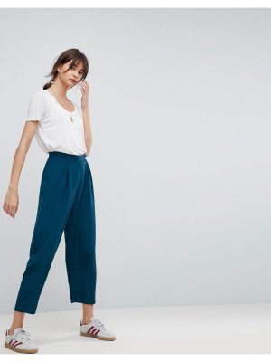 ASOS DESIGN tapered peg pants