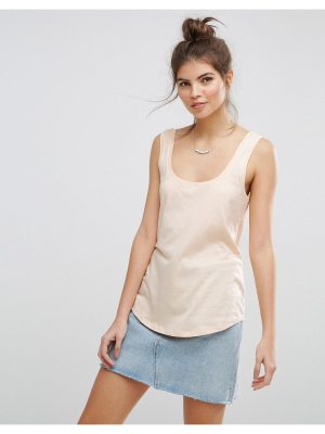 ASOS The Ultimate Tank With Curved Hem