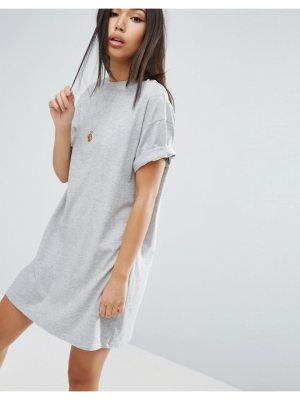 ASOS Ultimate T-Shirt Dress with Rolled Sleeves