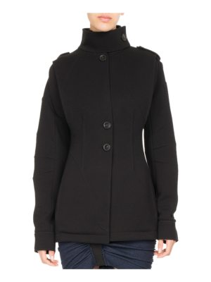 Atlein Single-Breasted Jersey Coat