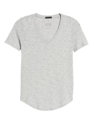 ATM Anthony Thomas Melillo slub v-neck tee