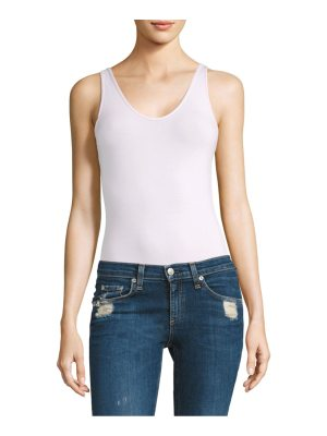 ATM Anthony Thomas Melillo v-neck tank bodysuit