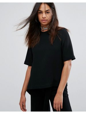 Back By Ann Sofie Back Back by Ann Sofie Back Flap Asymmetric T-Shirt