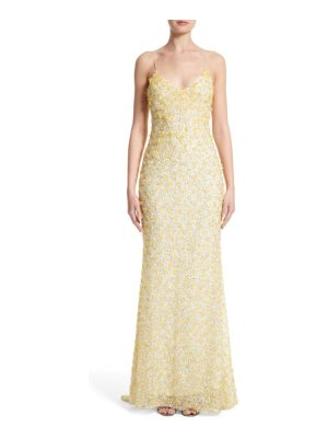 Badgley Mischka Couture badgley mischka couture embellished gown