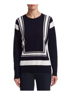 Barbara Lohmann fayola colorblock knit sweater