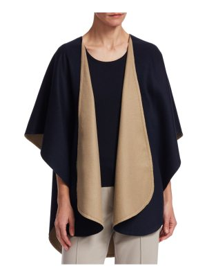 Barbara Lohmann flash doubleface cash wrap cardigan