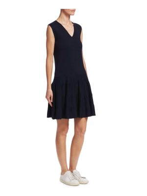 Barbara Lohmann florella v-neck florence skater dress