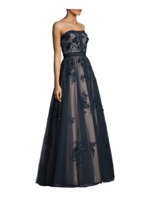 Basix Black Label floral bodycon ball gown