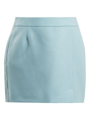 Bella Freud Alexa wool-crepe mini skirt