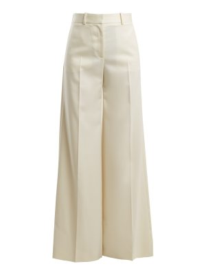 Bella Freud Bianca high-rise wool trousers