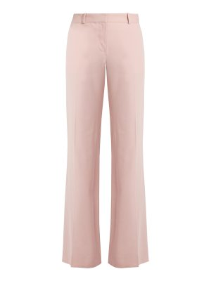 Bella Freud Isaac wide-leg cotton-blend trousers