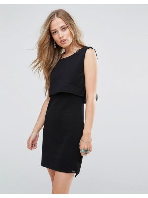Bellfield Scilla Jacquard Layered Dress