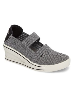bernie mev. frontier woven mary jane wedge