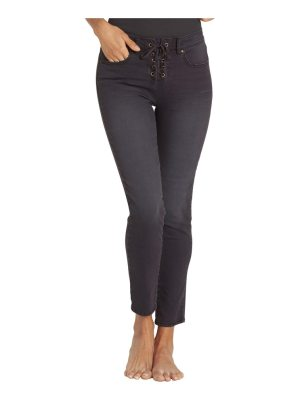 Billabong side by side lace up skinny jeans