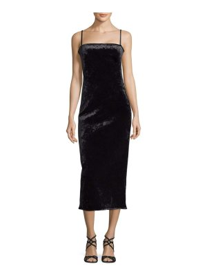 Black Halo Eve Constance Velvet Cocktail Dress