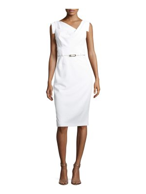 Black Halo Jackie O Sleeveless Sheath Dress