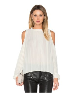 Blaque Label Pleated Blouse