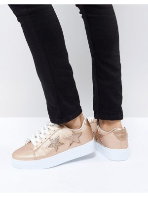 Blink Flatform Lace Up Sneakers