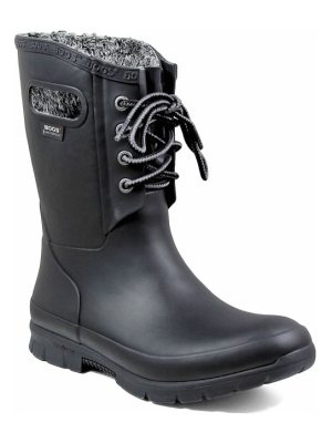 Bogs amanda plush waterproof rain boot