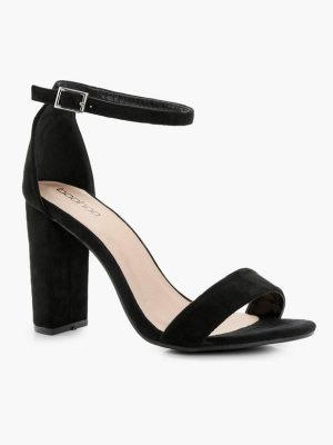 Boohoo Block Heel Two Part Heels