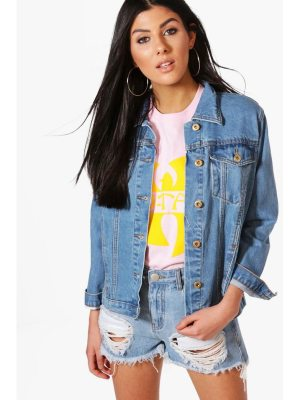 Boohoo Oversize Boyfriend Denim Jacket