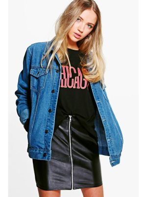 Boohoo Oversize Denim Jacket