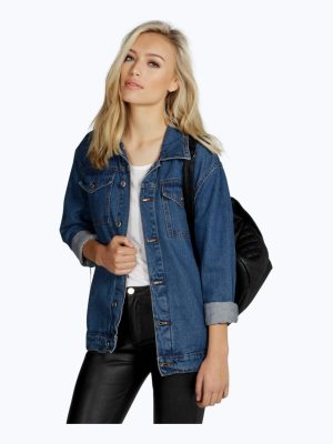 Boohoo Oversize Denim Boyfriend Jacket