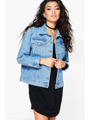 Boohoo Oversized Denim Boyfriend Jacket