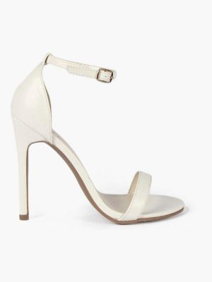 Boohoo Lizard Barely There Heels