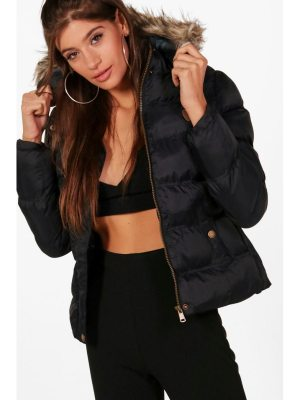 Boohoo Short Quilted Jacket