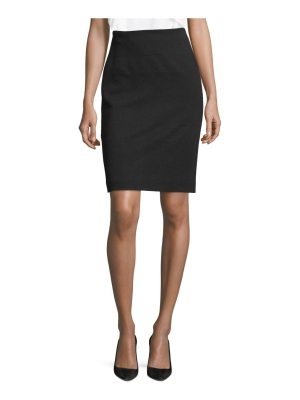 BOSS mibela jersey pencil skirt