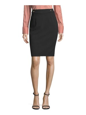 BOSS vipulida twill pencil skirt