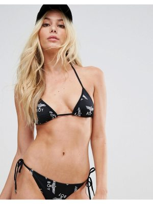 BOY London boy london repeat string bikini top