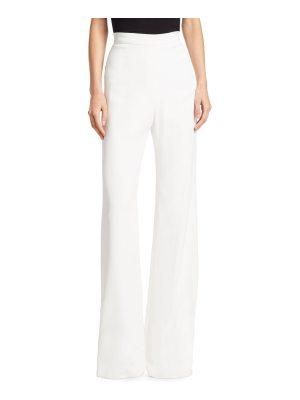 Brandon Maxwell crepe wide-leg pants