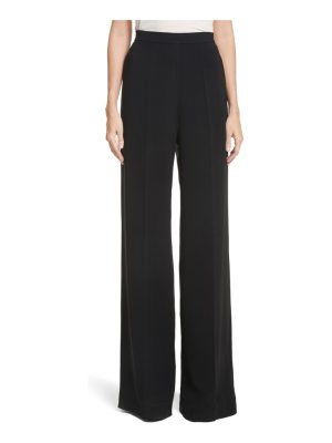 Brandon Maxwell wide leg crepe pants