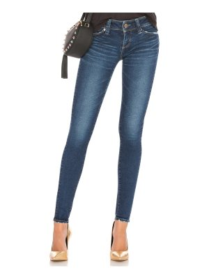 Brappers Denim Performance Skinny Mid Distressed