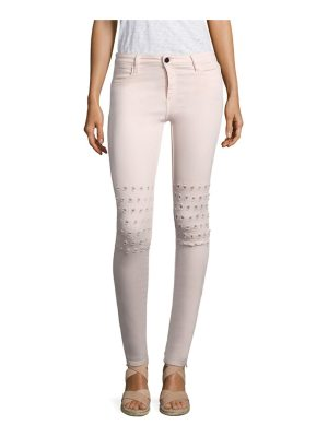 Brockenbow emma rush embroidered skinny jeans