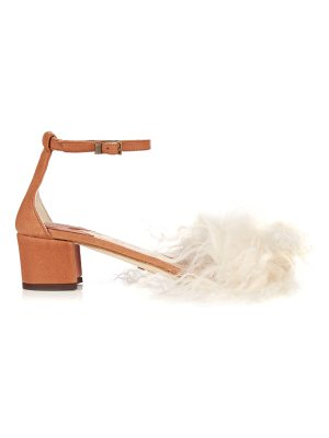 Brother Vellies Dhara curly-shearling sandals
