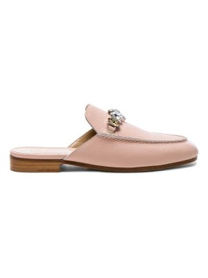 Brother Vellies Leather Loafer Slides