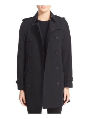 Burberry kensington mid trench coat
