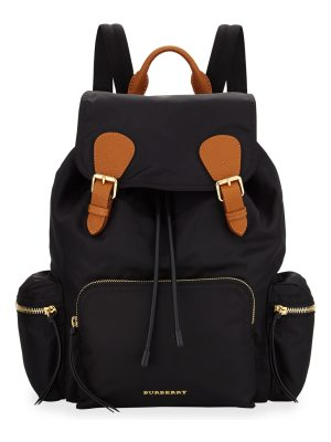 Burberry Medium Rucksack Runway Nylon Backpack