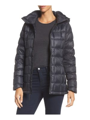 Burton ak baker waterproof quilted down insulator jacket with removable hood