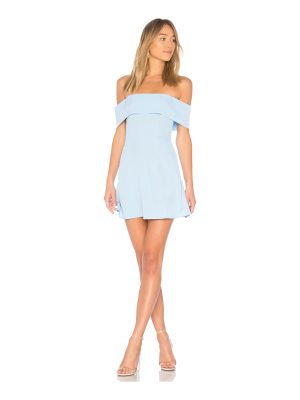 superdown aubrey off shoulder dress
