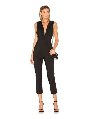 by the way. gloria deep v jumpsuit