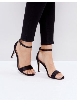 Call it Spring Call It Spring Ahlberg Satin Barely There Heeled Sandals