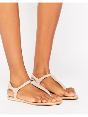 Call it Spring Call It Spring Blinder Blush Toe Post Sandals