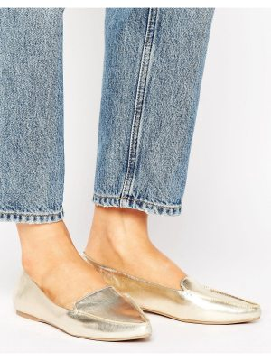 Call it Spring Call It Spring Cadenasen Metallic Point Flat Shoes